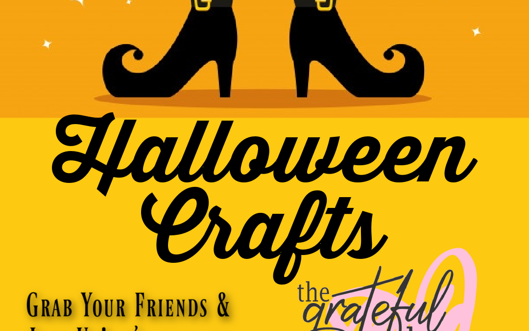 Halloween Crafts & OPEN PAINT