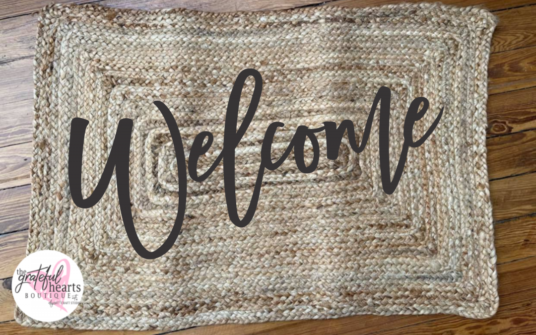 Doormat WELCOME Class! Only $35! Register Today!!